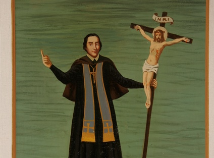 2. Dino Ferrari, Francesco Antonio con gli abiti da missionario.