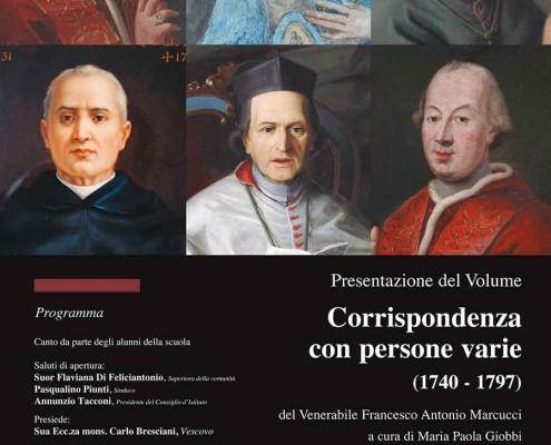 """Presentazione del Volume """"Corrispondenza con persone varie"""" (1740 - 1797)"""